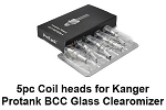 Kanger Protank 1and 2  Mini Protank heating coil 5PCS PACK 2.5 ohm