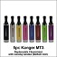 Kanger MT3 Replaceable Clearomizer with viewing window (Bottom Coil)